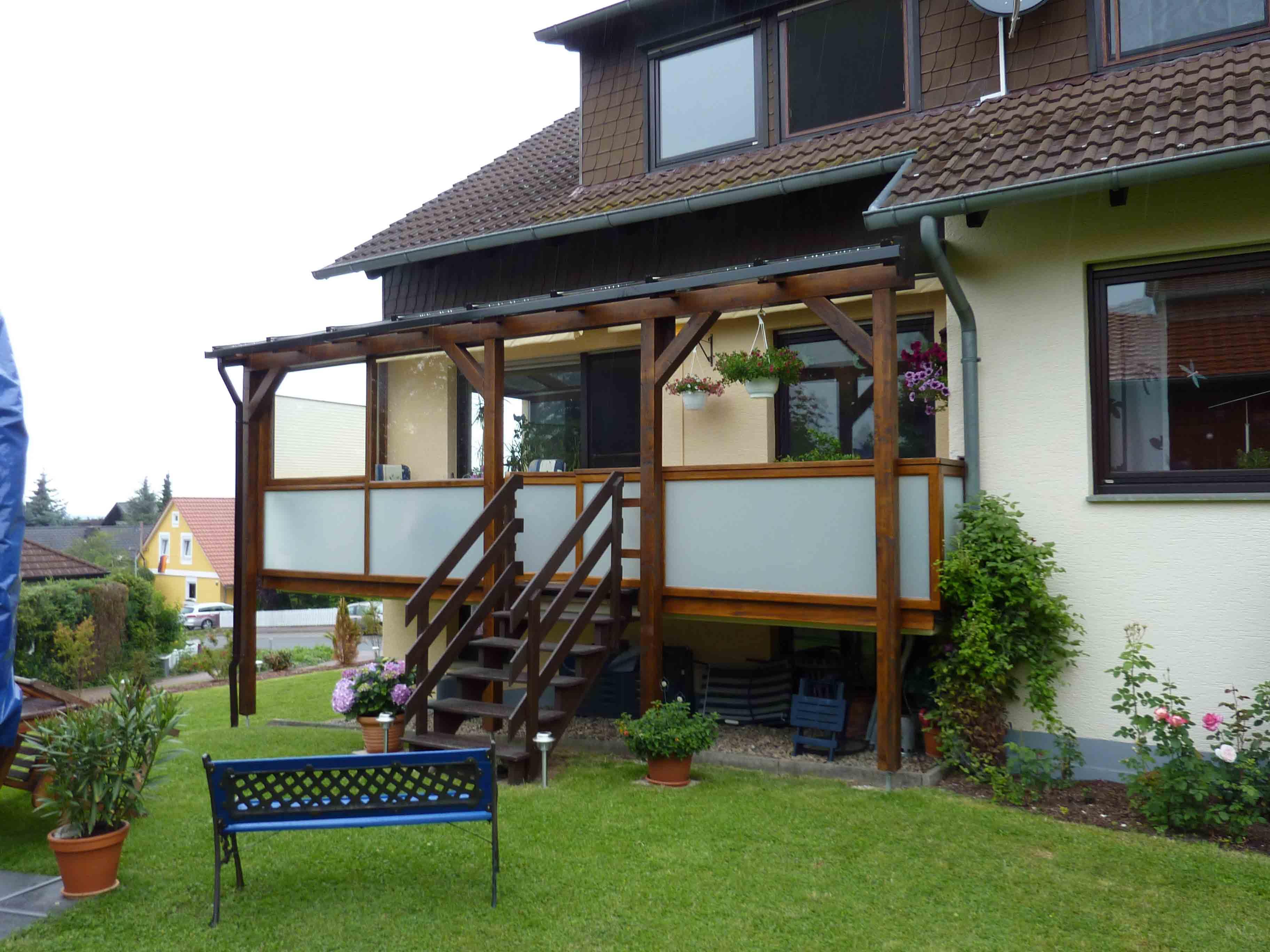 Erstaunlich Hausvordächer Das Beste Von Terassenueberdachung_01