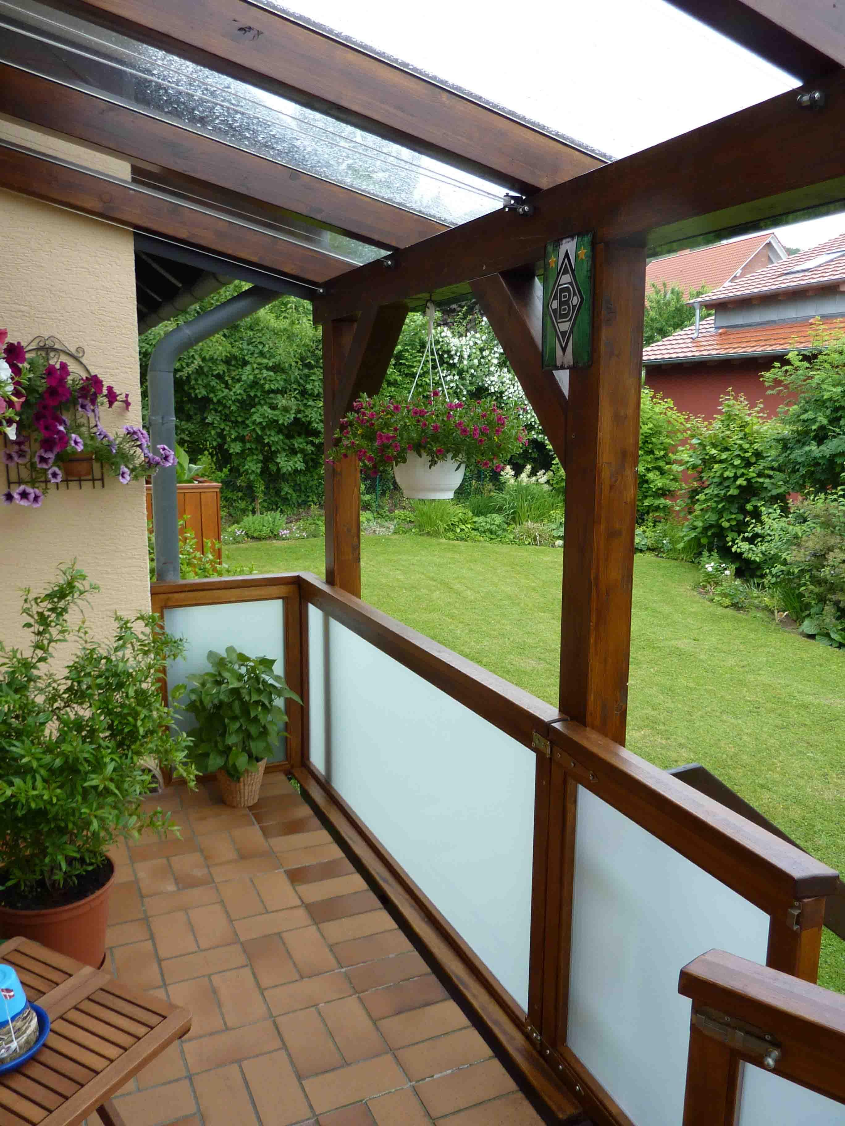 Attraktiv Hausvordächer Referenz Von Terassenueberdachung_02